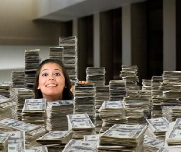 Lady in Dollars