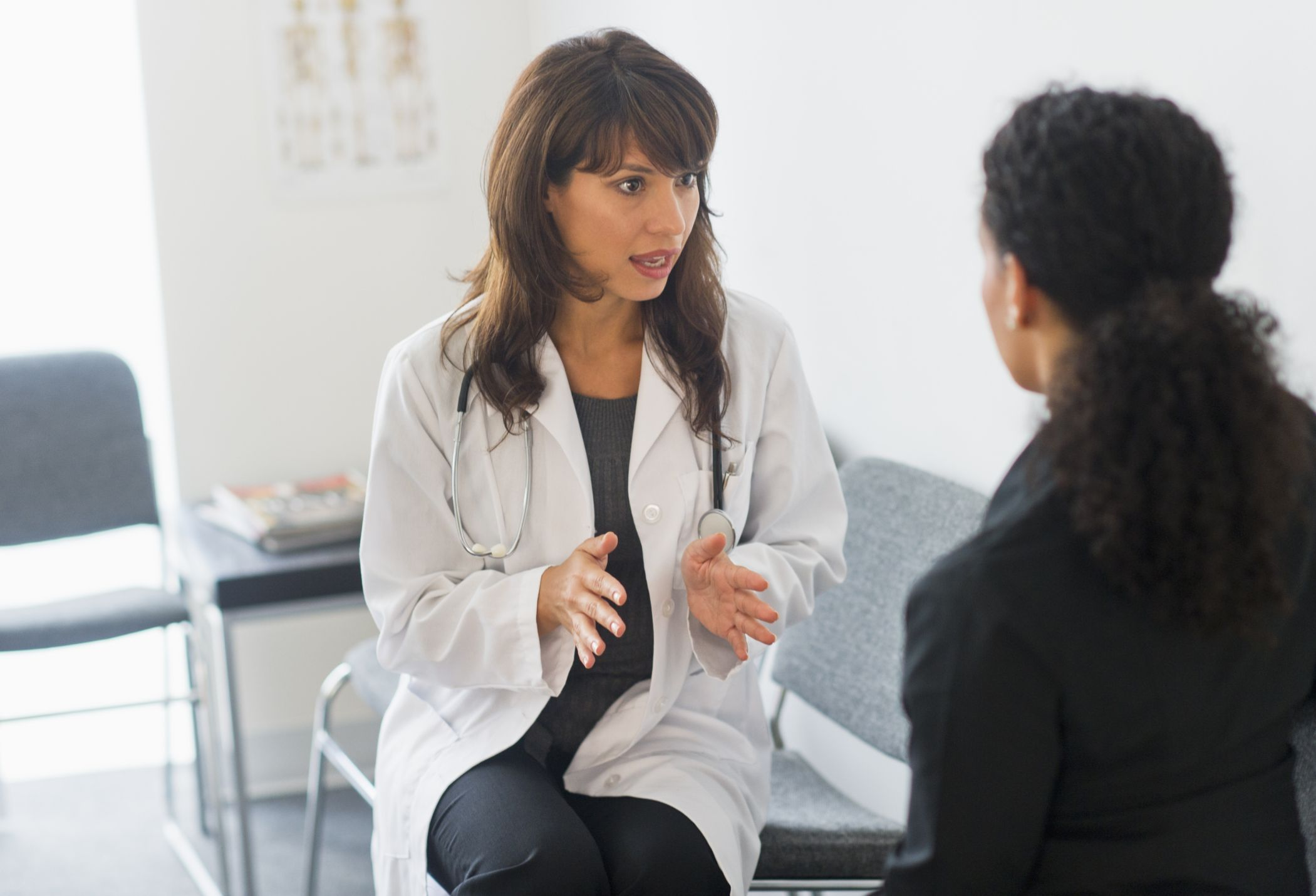 Doctor discussion with Patient